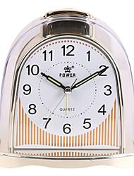 "5 ""H style moderne Noctilucous table Horloge"