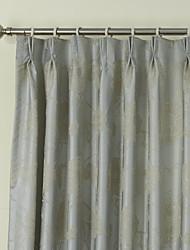 anti ™ (dois painéis) elegante país cortina de flores florais de poupança de energia