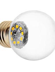 1.5W E26/E27 Ampoules Globe LED 9 SMD 2835 90 lm Blanc Chaud AC 100-240 V
