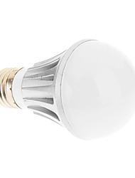 E27 5W 5xHigh Мощность 450LM 6500K Холодный белый свет Светодиодные лампы глобус - Серебряная гарантия (85-265В)