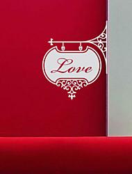 Palavras Amor Registe-adesivos de parede