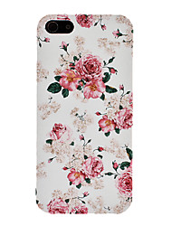 Elegante Pfingstrose Muster PC Hard Case für iPhone 5/5S
