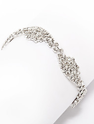 Elegant Alloy With Rhinestone Women's Bracelet