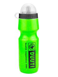 Sport Water Bottle 750ml HDPE Green Cycling