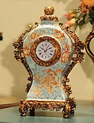 """14 """"H Country Style Classique Artware Polyrésine Horloge de table"""