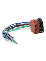Universal Male ISO Radio Wire Wiring Harness Adapter Connector Adaptor