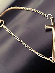 Miss Marry Punk Cross Bracelet