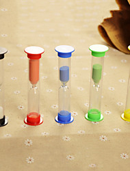 Table Centerpieces Colorful Test Tube Shaped Hourglass - Set of 5 Pieces  Table Deocrations
