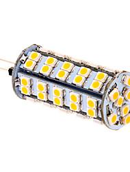 5W G4 Ampoules Maïs LED T 66 SMD 3020 380 lm Blanc Chaud DC 12 V