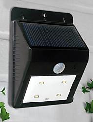4-lumière LED blanche LED Lumière solaire Sensor PIR lumière extérieure