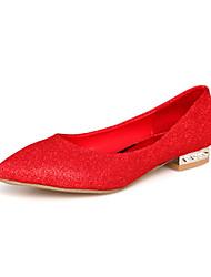 Suede Women's Wedding Flat Heel Ballerina Flats Shoes(More Colors)
