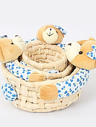 Modern Three-piece Random Colors Little Bear Storage Box