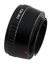 EMOLUX Olympus OM Lente Para Sony NEX-3 NEX-5 NEX-7 NEX-VG10 E Adaptador de montaje NUEVO