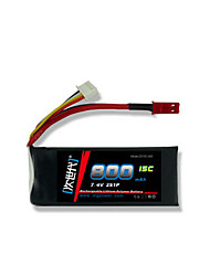 DLG 7.4V 800mAh 2S 15C Lipo Battery