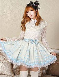 Angelic Pretty Light Blue Canary Lolita Kawaii Skirt Lovely Cosplay