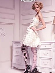 Сексуальное отвесное клавиши пианино Pattern бумажная коробка Упаковка Колготки 9093