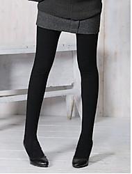 MMX Caramelo Caliente de color Fleece Panti (Negro)