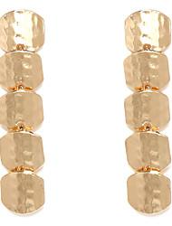 Stile Europeo Golden Line orecchini di goccia