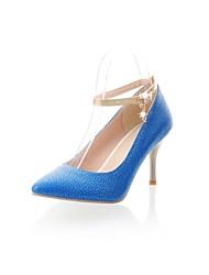 vrouwen kegel hiel mary jane schoenen met strass (meer kleuren)