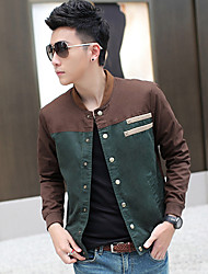 Slim stand Casual Col Jacket