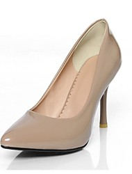 Couro de patente das Mulheres Cone Heel Bombas sapatos de salto (mais cores)