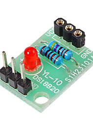 New DS18B20 Temperatursensor DS18B20 Schild ohne Chip