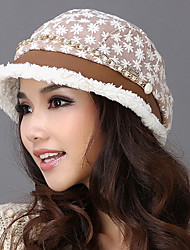 Xiaerbeiluo British Hat With Flower Print