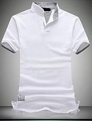 Hombres Venta caliente Moda de manga corta del tamaño grande de Polo T-shirt