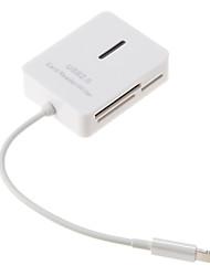 USB Все-в-одном 2.0 Card Reader (белый)