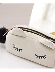 Women Casual Evening Bag / Cosmetic Bag White / Pink / Blue / Black