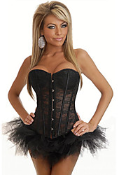 Darling Clothes Women's Sexy Lace Black Corset