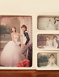 "11.75""H Contemporary Style Wedding Collage Hanging Picture Frame"