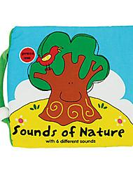 sons da natureza com 6 sons diferentes travesseiro brinquedo