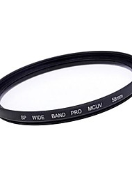 58mm Slim Multi Coated MC-UV Filter Lens