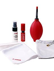 7-en-1 kit de limpieza de la lente Aire Brower Cloth Brush Liquid Herramientas (embalaje Canon, color al azar)