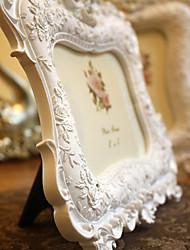 "7.75 ""Cadre H Empaistic Rose Polyrésine Photo"
