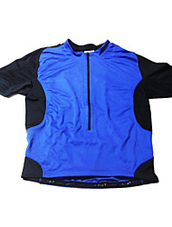 JAGGAD Cycling Tops / Jerseys Men's Bike Breathable / Quick Dry / Wearable Short Sleeve Spandex / Polyester Black / BlueS / M / L / XL /