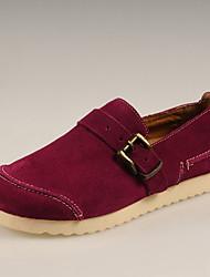 Chaussures Handmade Simul marées Chaussures Chaussures en cuir (fuchsia)