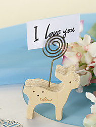 Place Cards and Holders Deerlet Wood Placecard Holder