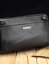 Cowhide Commercial Genuine Leather Clutch Man Bag