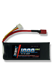 DLG 11.1V 1000mAh 3S 25C Lipo Battery