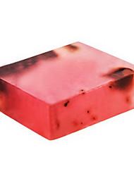 Rose Essential Oil Handmade Soap Skin Whitening Moisturizing Anti-Wrinkle