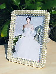 "7.75""H Contemporary Style Pearl Table Top Picture Frame"