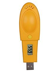 LCD-Display Temp und Luftfeuchtigkeit Datenlogger (-40 ~ 105 ℃, 1 ℃)