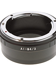 АИ-M4 / 3 объектива камеры переходное кольцо (черный)