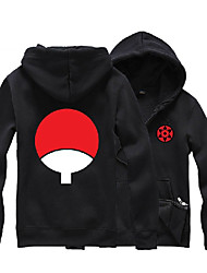 Inspired by Naruto Sasuke Uchiha Anime Cosplay Costumes Cosplay Hoodies Print Long Sleeve Top For Unisex