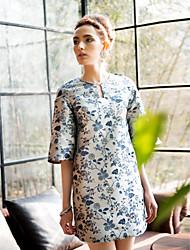 TS Vintage Flare-Hülsen-Kleid