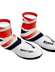 KOOPLUS - British National Equipo Polyester + Lycra Rojo + Blanco Zapatillas Cubierta