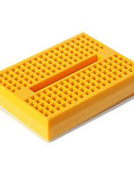Mini Breadboard - Gelb (46 x 35 x 8,5 mm)