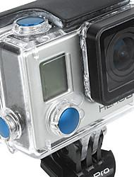 Accesorios GoPro Botón Para Todo aleación de aluminio azul